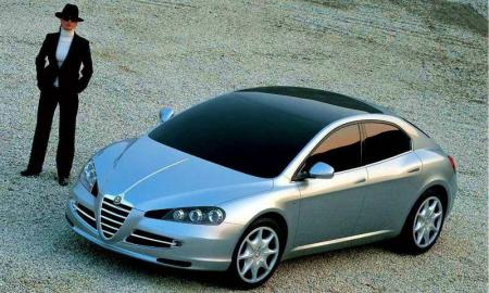 Alfa Romeo Visconti Concept ItalDesign